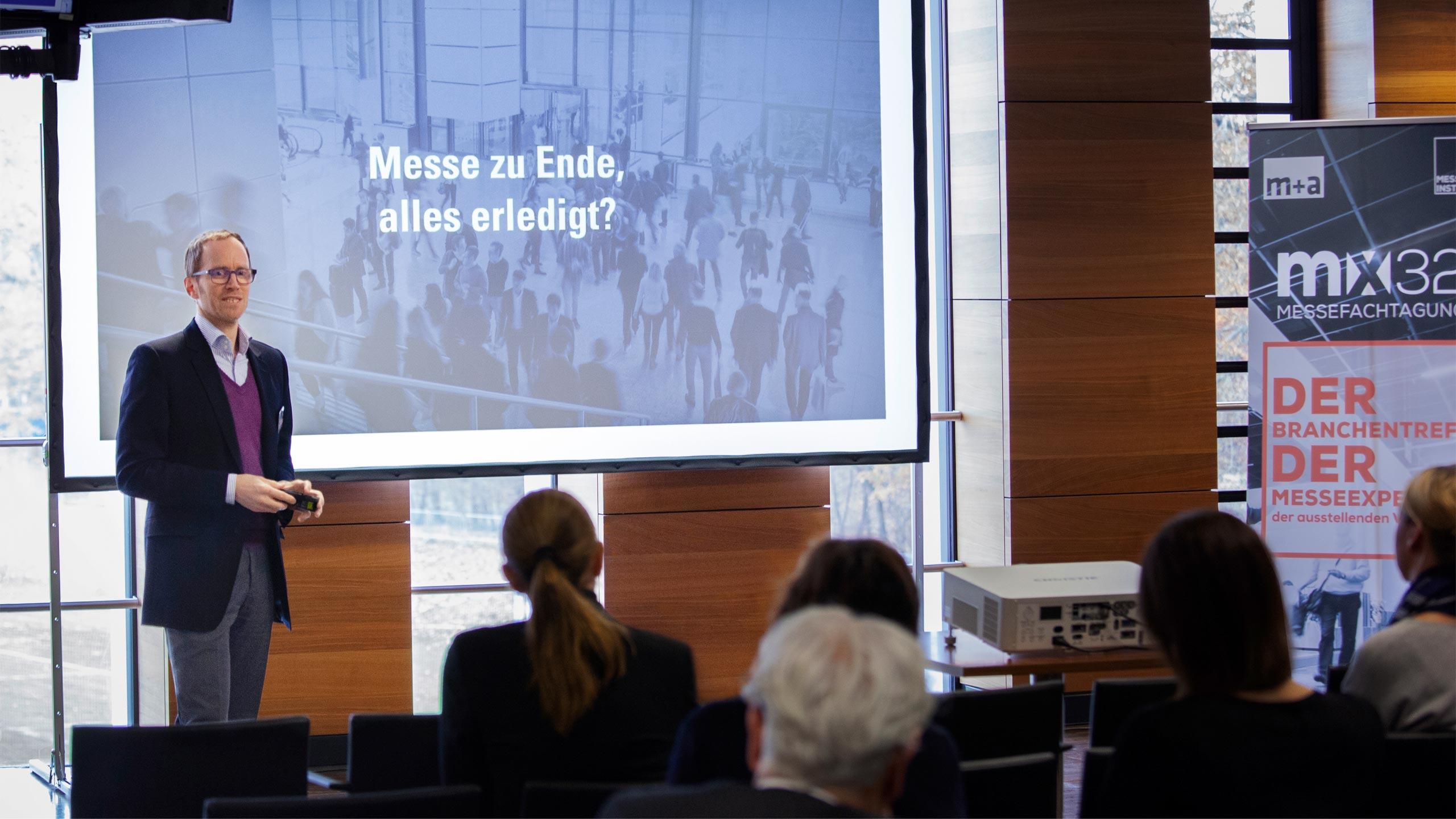 Vortrag auf der Messefachtagung MX32