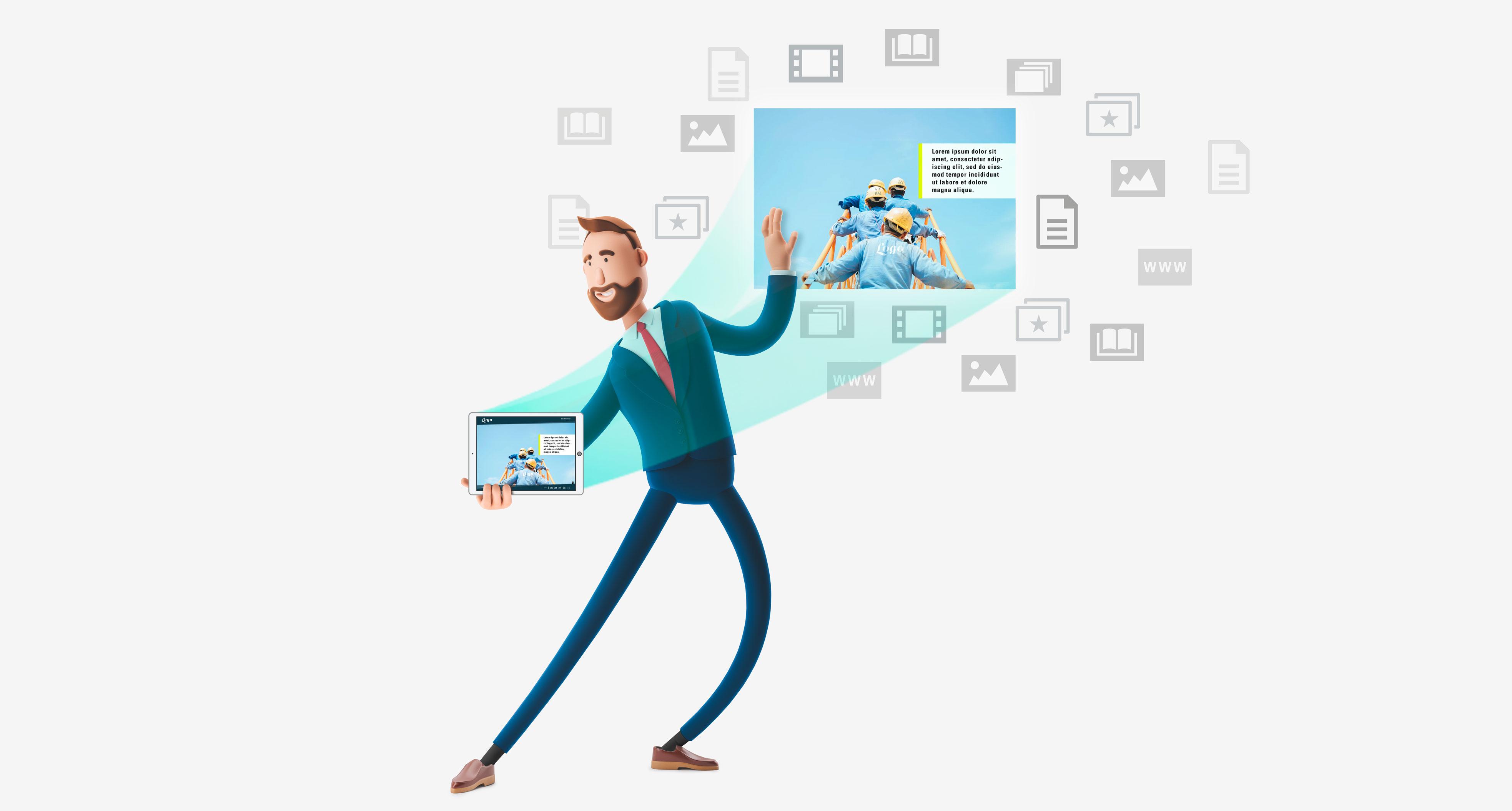 interaktives Präsentationstool